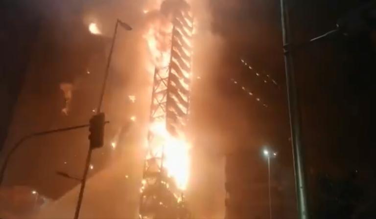 Χιλή: Κόλαση! Τρεις νεκροί, φωτιές σε πελώρια κτίρια και απίστευτες εικόνες! video