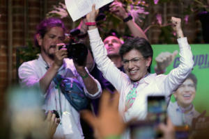 Γυναίκα δήμαρχος στην Μπογκοτά για πρώτη φορά!