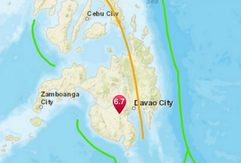 Σεισμός συγκλόνισε τις Φιλιππίνες