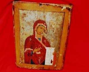 Θεσσαλονίκη: Η εικόνα της Παναγίας τον στέλνει στον εισαγγελέα – Σε περιπέτειες ο παλαιοπώλης!