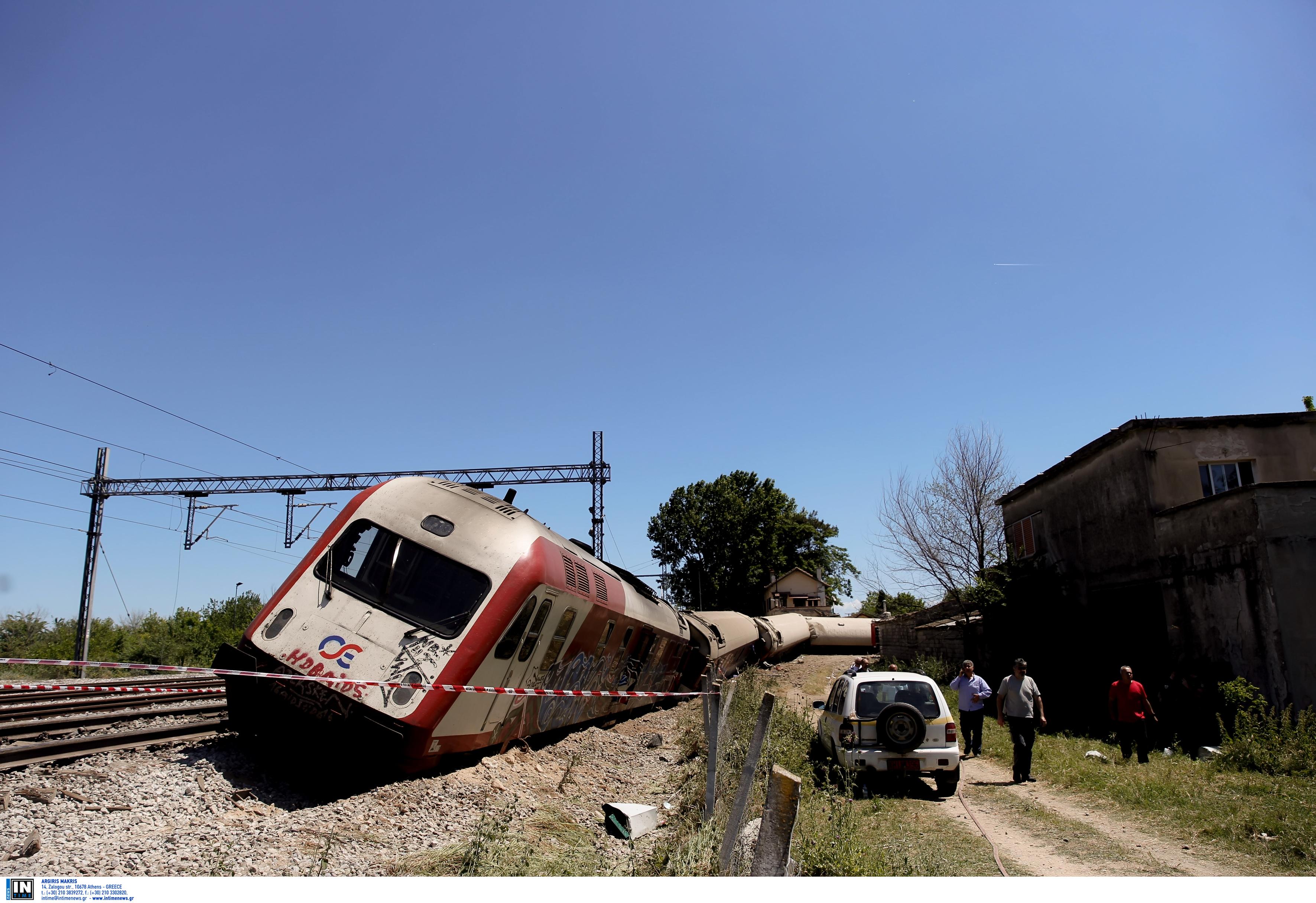 ΟΣΕ – Σέρρες: Αποκαταστάθηκε η σιδηροδρομική γραμμή μετά τον εκτροχιασμό βαγονιών με καύσιμα