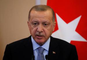 Ερντογάν: Ενημερωθήκαμε για την αποχώρηση των Κούρδων από τα σύνορα