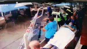 Η στιγμή της πτώσης του 45χρονου στο Γαλάτσι! Βίντεο – ντοκουμέντο!