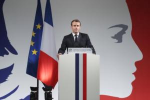 Μια «ακατάπαυστη μάχη» απέναντι στην ισλαμιστική τρομοκρατία, υπόσχεται ο Μακρόν
