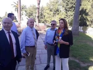 Κέρκυρα: Η επανεμφάνιση της Άντζελας Γκερέκου – Αυτοψία στο Αχίλλειο για τις εικόνες ντροπής [pics]