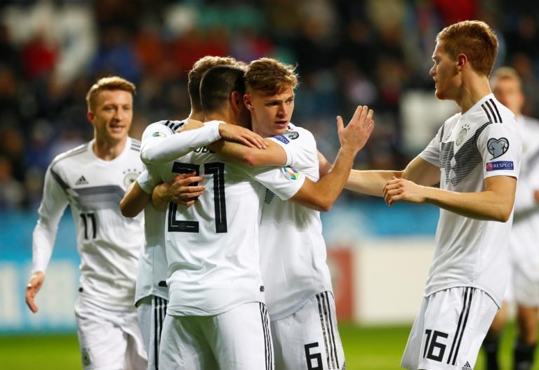 """""""Τριάρα"""" με τύχη η Γερμανία – Προκρίθηκε στο Euro η Πολωνία – videos"""