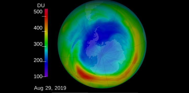 Η τρύπα του όζοντος συρρικνώθηκε το 2019 περισσότερο από ποτέ! video