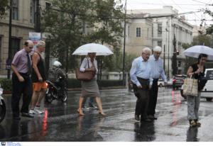 Καιρός αύριο: Βροχές, καταιγίδες και ισχυροί άνεμοι στο Αιγαίο