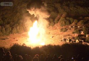 28 Οκτωβρίου 2019: Η εντυπωσιακή αναπαράσταση της μάχης στο Καλπάκι – video