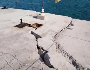 Κέρκυρα: Κανένα έργο μετά την καθίζηση στο λιμάνι – Αυτοψία στο σημείο 88 μέρες μετά [pics]