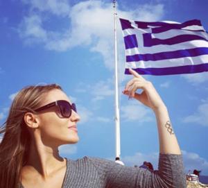 """Ελληνική ανάρτηση κι από Κορακάκη! """"Πάντα περήφανοι κι αλώβητοι αγωνιστές"""" [pic]"""
