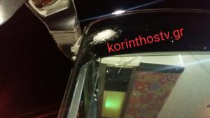 Τρόμος για οδηγό και επιβάτες του ΚΤΕΛ Αχαΐας [Pics]