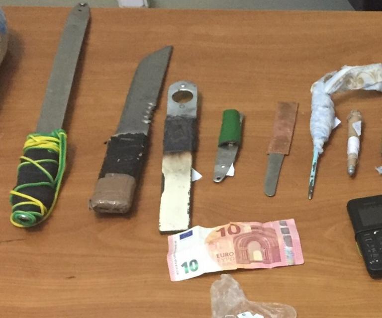 Νέα έφοδος της ΕΛΑΣ στις φυλακές Κορυδαλλού – Βρήκαν μαχαίρια και ναρκωτικά