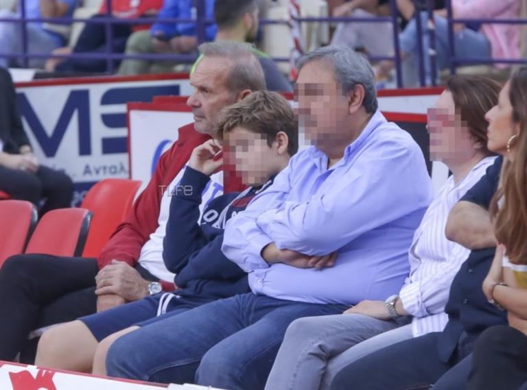 Πέτρος Κωστόπουλος: Με τον γιο του στο γήπεδο να δουν τον Ολυμπιακό!