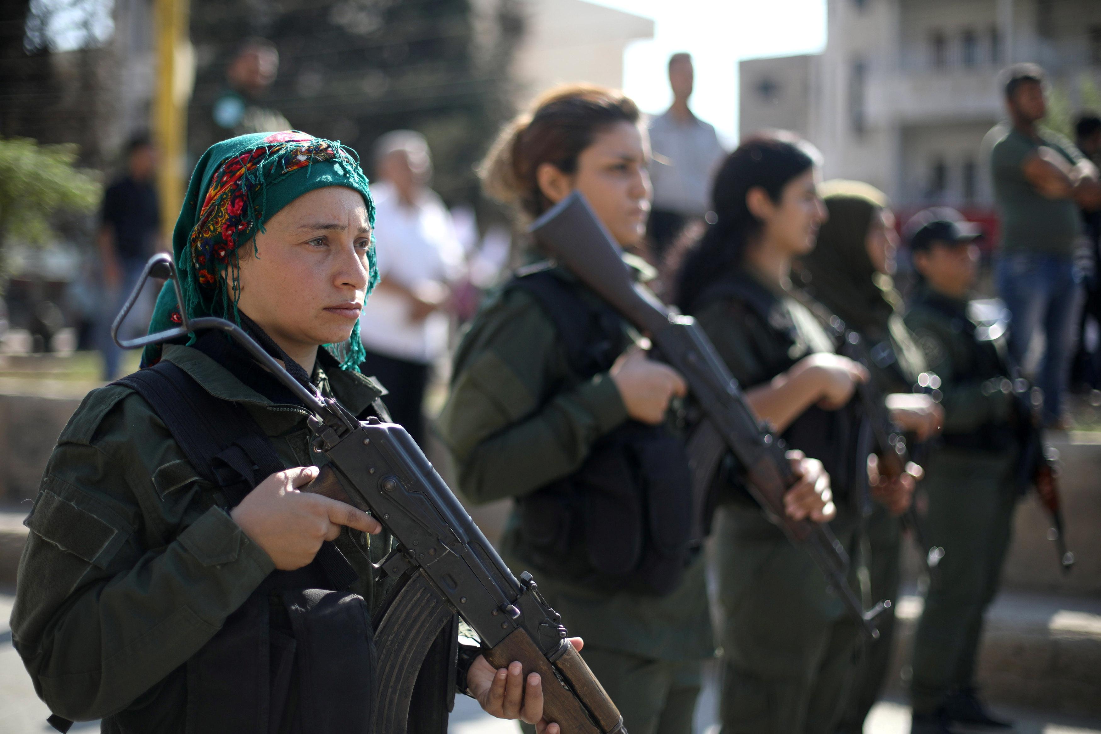 """Υπέρ του γερμανικού σχεδίου για """"ζώνη ασφαλείας"""" στη βόρεια Συρία τάσσονται οι Κούρδοι"""