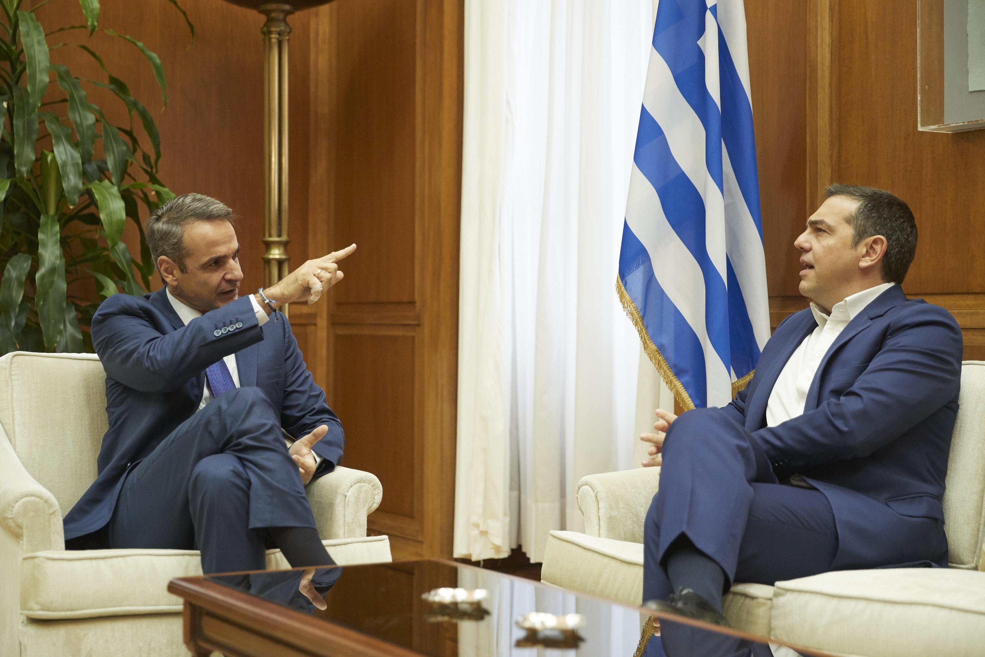 Τσίπρας μετά την συνάντηση με Μητσοτάκη: Όχι στον διχασμό των Ελλήνων της διασποράς