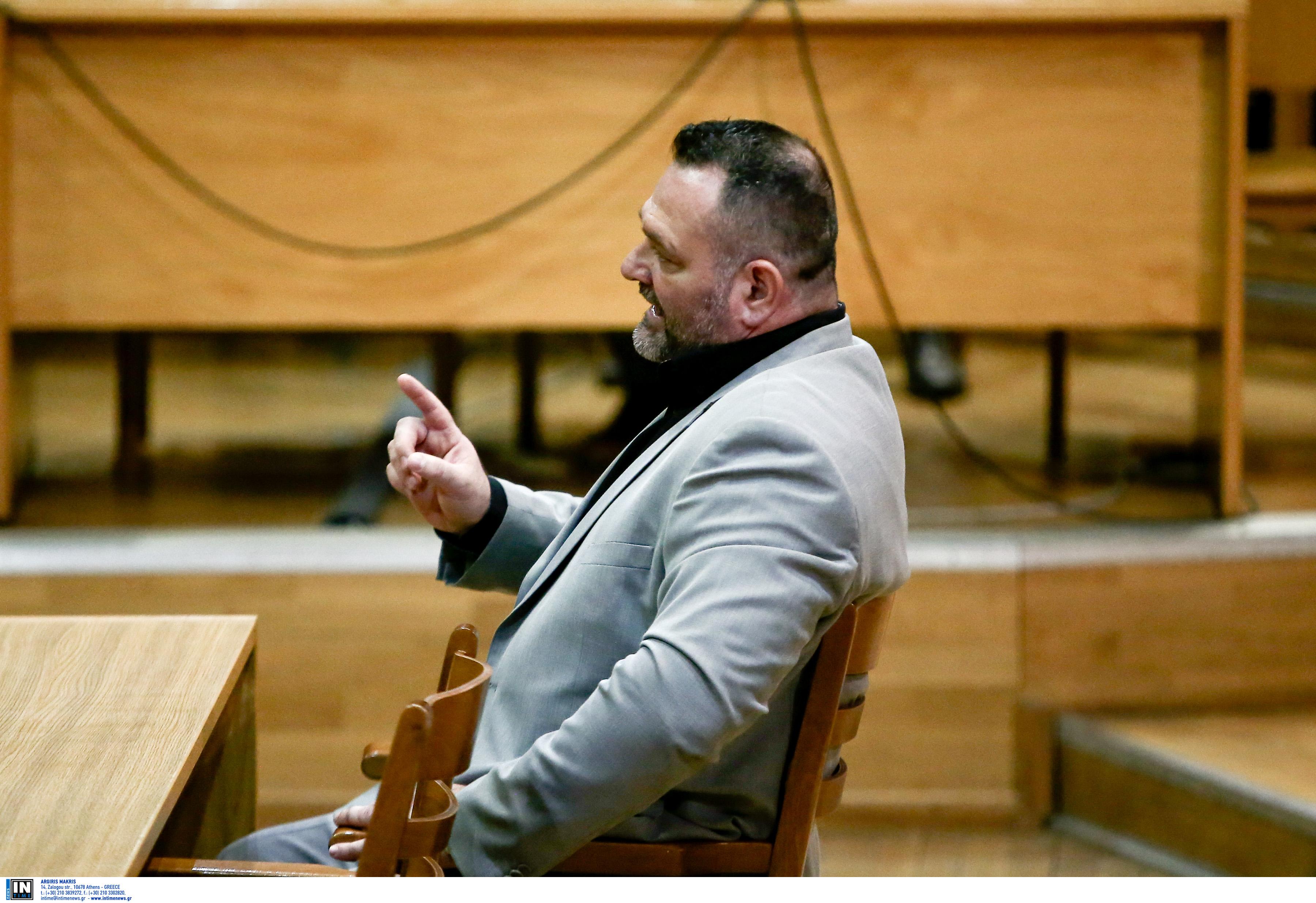 Δίκη Χρυσής Αυγής – Προκλητικός Λαγός: Δεν έχω να απολογηθώ για τίποτα!