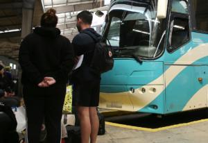 Τροχαίο με λεωφορείο που μετάφερε μαθητές στη Χαλκιδική!