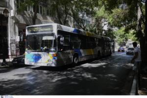 Θεσσαλονίκη: Η στιγμή που λεωφορείο του ΟΑΣΘ αρχίζει να βάζει νερά! Το βίντεο που τράβηξε επιβάτης