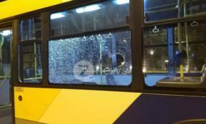 Επίθεση στο λεωφορείο 550 – Τραυματίστηκαν δύο επιβάτες! [Pics]