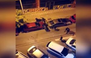 Θεσσαλονίκη: Βγήκε στο μπαλκόνι και κατέγραψε την άγρια ληστεία με ρόπαλα, μπουνιές και κλωτσιές – video