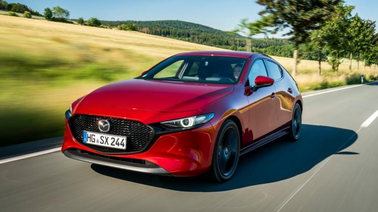 Οι τιμές του Mazda3 με τον κινητήρα Skyactiv-X απόδοσης 180 PS