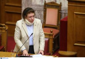 Τροχαίο ατύχημα για Μενδώνη – Παναγιωταρέα! Με κολάρο η υπουργός Πολιτισμού στη Βουλή!