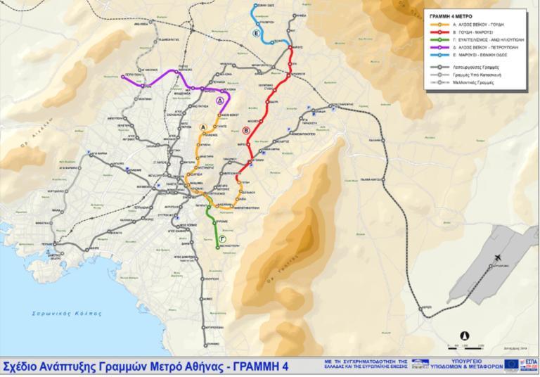 Μετρό – Γραμμή 4: Η ΑΒΑΞ την καλύτερη προσφορά, που θα γίνουν οι 15 σταθμοί