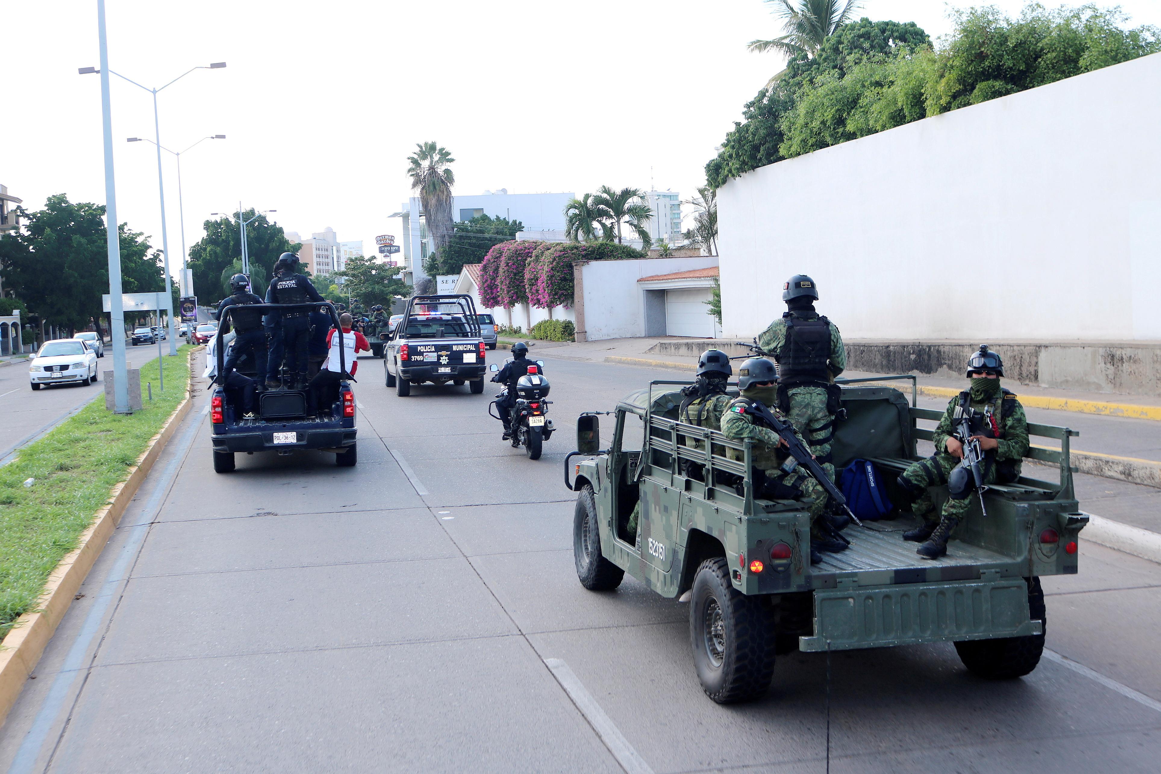 Μεξικό: Αναπτύσσονται ειδικές δυνάμεις στο Κουλιακάν - Βαριά πολυβόλα στους δρόμους