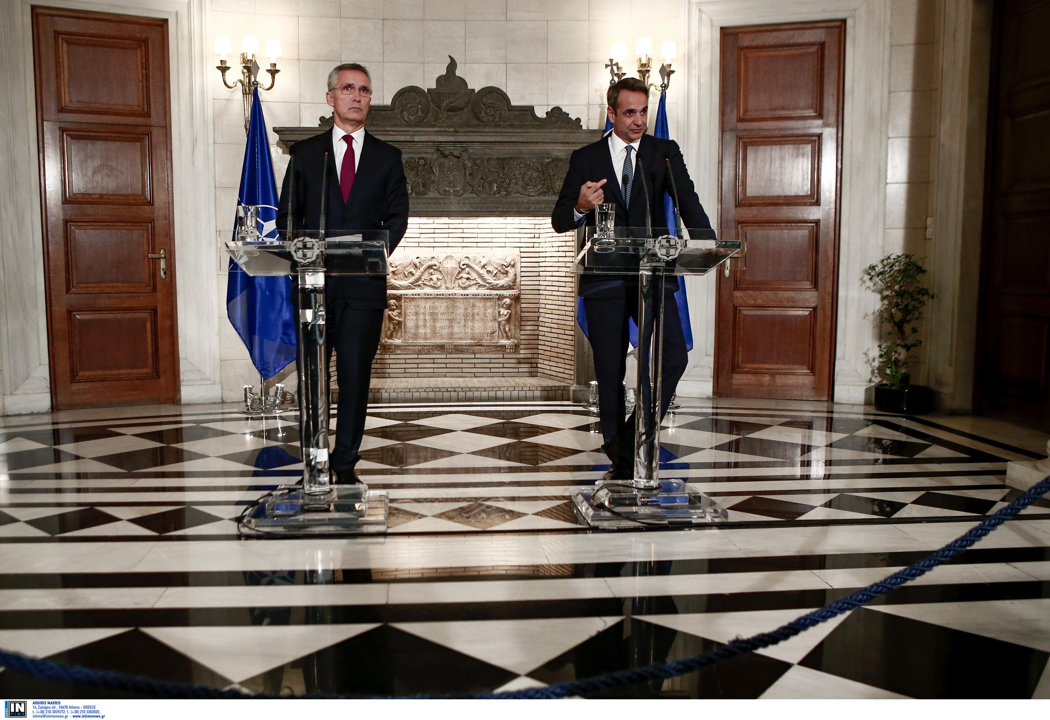 Οργή Αθήνας για Στόλτενμπεργκ: «Κανένας διάλογος χωρίς αποκλιμάκωση»