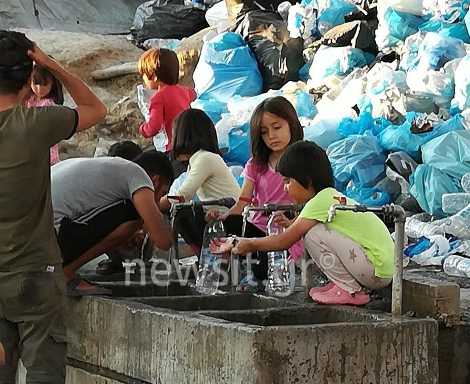 """Λέσβος: """"Ασφυξία"""" στον καταυλισμό της Μόριας με 15.000 μετανάστες – Επιστροφή στους αριθμούς του 2015!"""