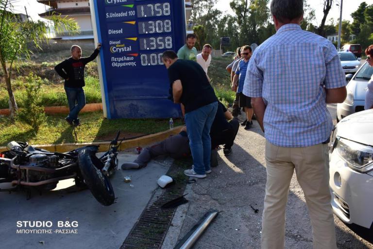 Ναύπλιο: Τρομακτικό τροχαίο με έναν σοβαρά τραυματισμένο