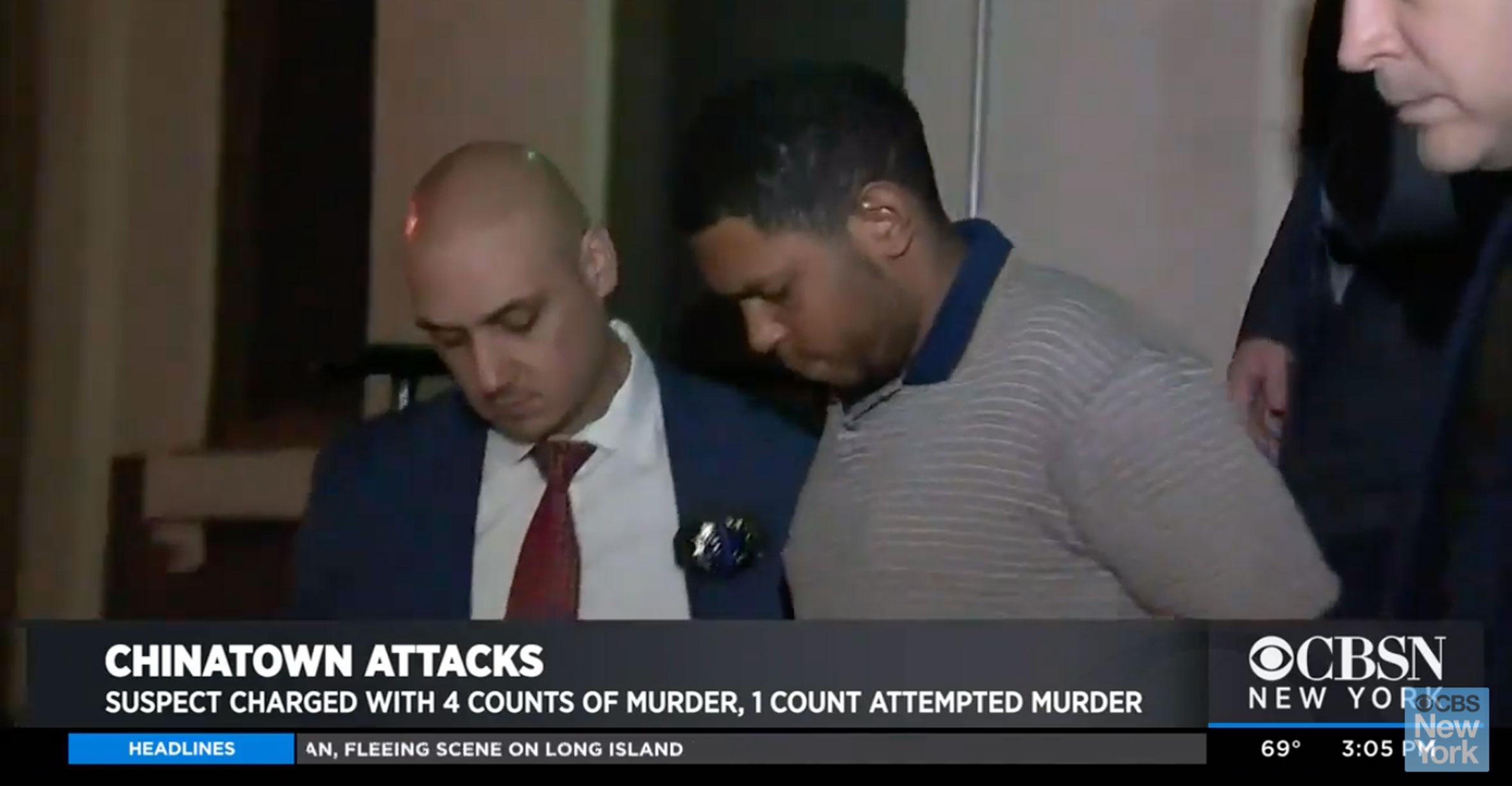 Νέα Υόρκη: Άστεγος serial killer – Σκότωσε τέσσερις ανθρώπους στην Chinatown – Video σοκ