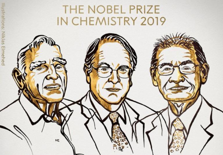 Νόμπελ Χημείας σε τρεις επιστήμονες για τις μπαταρίες λιθίου