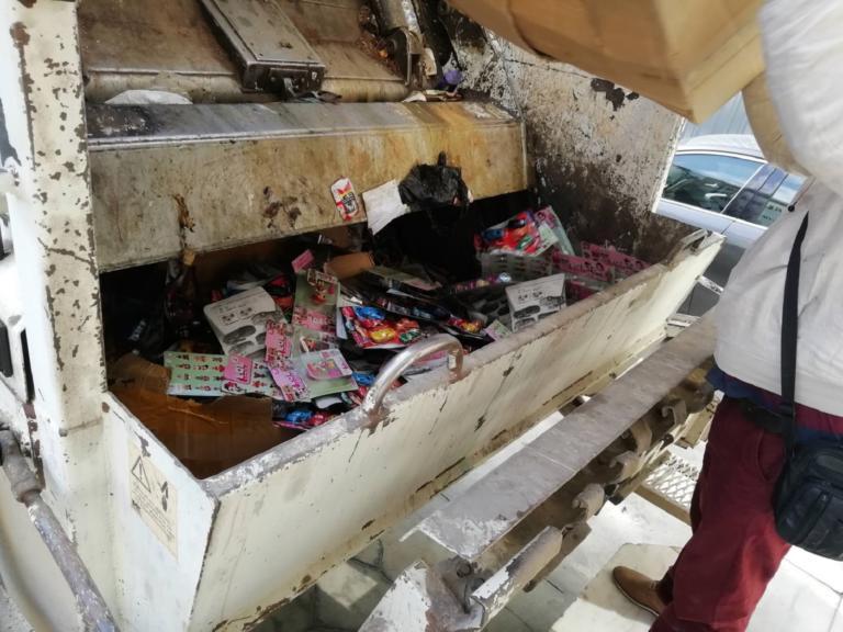 Παράνομη αποθήκη παιχνιδιών εντοπίστηκε στο Ρέντη! Κατασχέθηκαν και καταστράφηκαν τα παιχνίδια