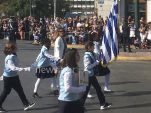 28η Οκτωβρίου: Εντυπωσιακές εικόνες στην μαθητική παρέλαση της Αθήνας [pics]