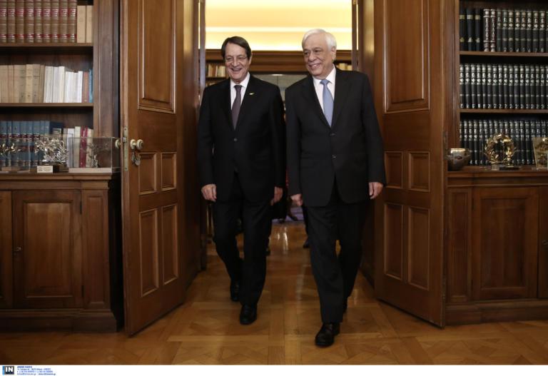 Παυλόπουλος: Δεν θα ανεχτούμε παραβιάσεις της κυπριακής ΑΟΖ