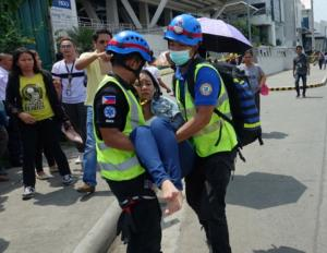Φιλιππίνες: Ενας νεκρός και πολλοί τραυματίες από τον ισχυρό σεισμό