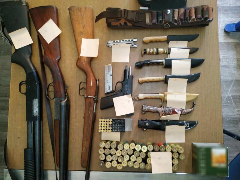 Αυτά έκρυβε στο σπίτι του 30χρονος Κρητικός
