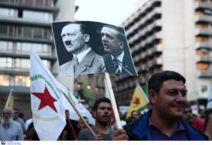 Ένταση σε πορεία Κούρδων στην Αθήνα! Προσπάθησαν να πλησιάσουν την τουρκική πρεσβεία!