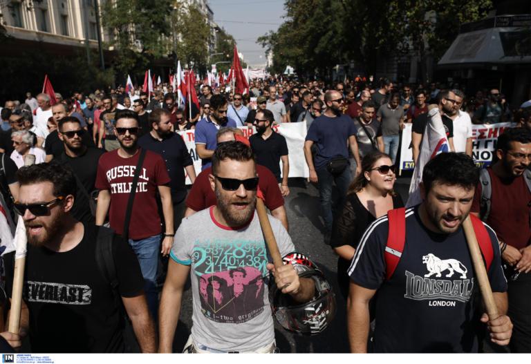 Απεργία 2 Οκτωβρίου: Όλα όσα έγιναν στις πορείες ΠΑΜΕ και ΓΣΕΕ – ΑΔΕΔΥ