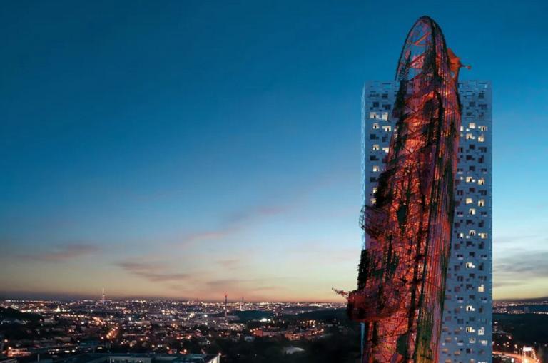Πύργος – ναυάγιο είναι πιθανό να γίνει το υψηλότερο κτίριο στην Τσεχία