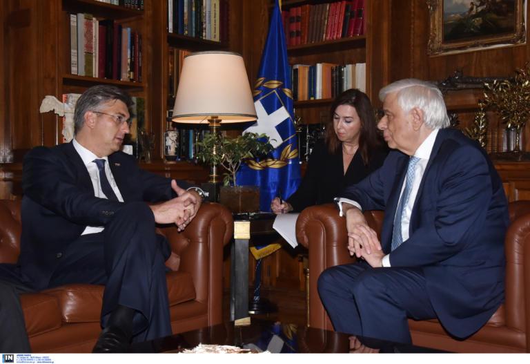Παυλόπουλος… υπέρ Κροατίας! Η συνάντηση και η ευρωπαϊκή ατζέντα