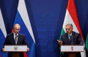 Για τη συνεργασία σε ενεργειακό επίπεδο μίλησαν Πούτιν και Όρμπαν