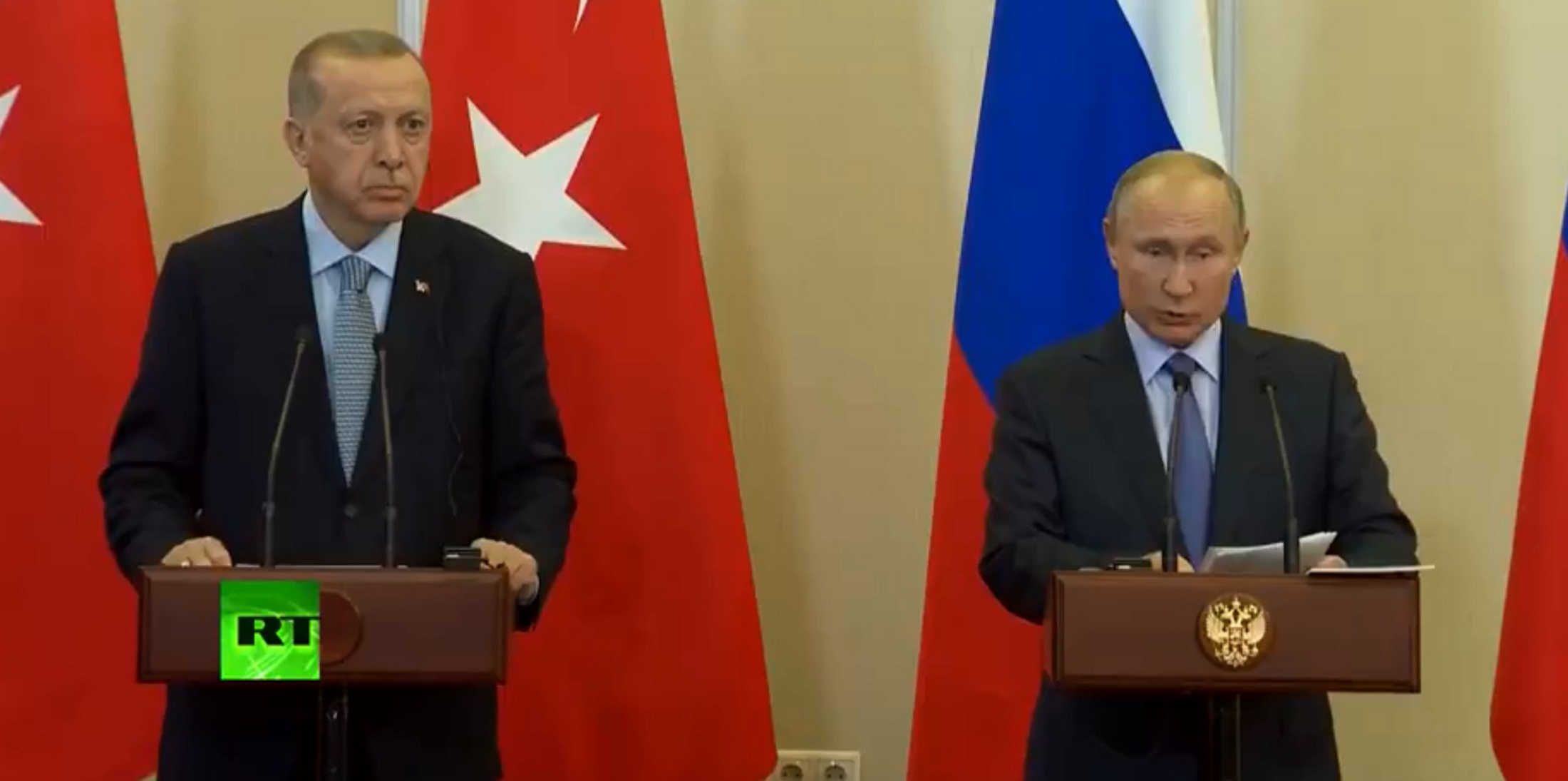 """Νέα εκεχειρία 150 ωρών στη Συρία! Εκτός """"παιχνιδιού"""" οι Κούρδοι που αναγκάζονται να αποχωρήσουν από τα σύνορα με την Τουρκία"""