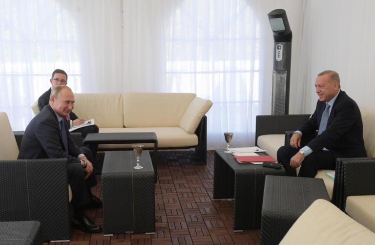 Πούτιν: Βλέπει Ερντογάν και ο κόσμος κρατά την ανάσα του!