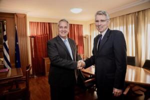 Συνάντηση Βορίδη με τον Αμερικανό Πρεσβή – Τι συζήτησαν