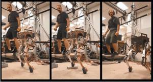 Τρέχει ο άνθρωπος, τρέχει και το ρομπότ! video