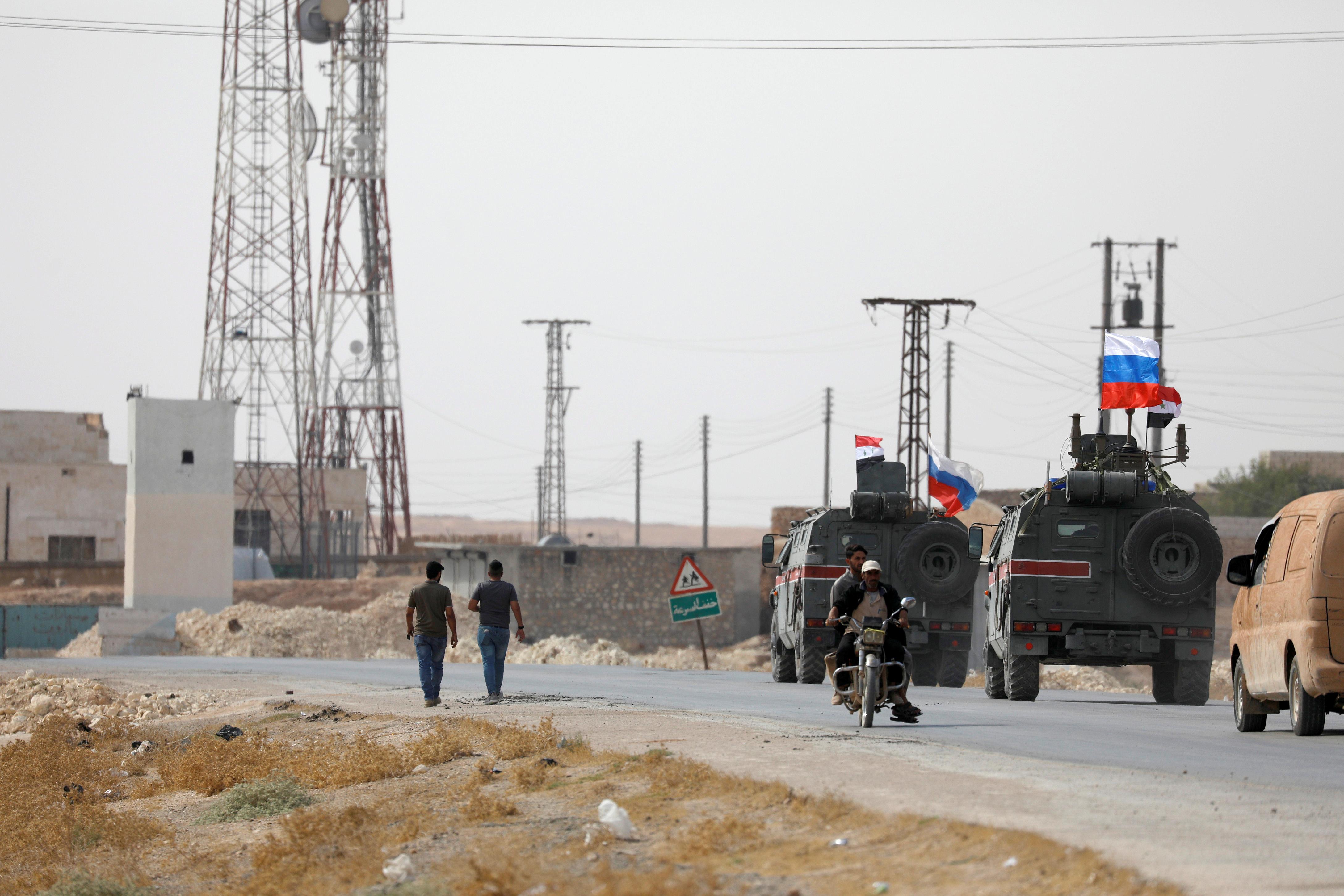 Συρία: Οι ρωσικές δυνάμεις βρίσκονται έξω από το Κομπάνι