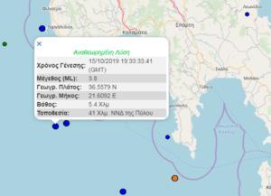 Σεισμός τώρα… και πάλι κοντά στην Πύλο!